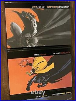 Batman The Long Halloween, Haunted Knight, And Dark Victory Absolute Editions