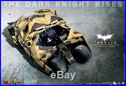 Batman Tumbler Camouflage Batmobil The Dark Knight Rises MMS184 1/6 12 Hot Toys