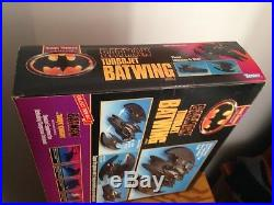 Batman the Dark Knight Collection Turbojet Batwing Vehicle 1990 Factory Sealed