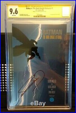 Batman the Dark Knight Returns 1, 1986 1st print CGC 9.6 NM+ Signed Frank Miller