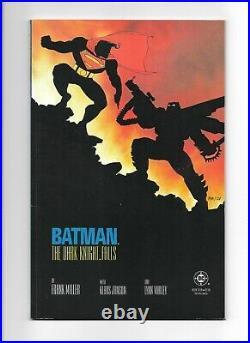 Batman the Dark Knight Returns #1-4 // 1st Print // Complete Set FN Range