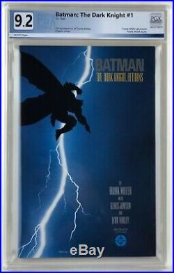 Batman the Dark Knight Returns #1 - PGX 9.2 - Frank Miller NO RESERVE