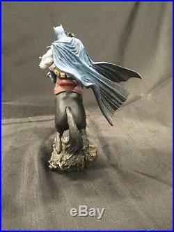 Batman the Dark Knight Returns Call to Arms Mini Battle Horse Statue DC