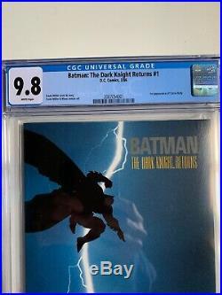 Batman the dark knight returns 1 first print CGC 9.8 White Pages