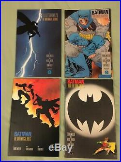 Batman the dark knight returns complete set 1-4 first print frank miller 1 2 3 4
