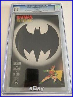 Beautiful Set Ofthe Dark Knight Returnsall Cgc 9.8, First Prints, White Pages