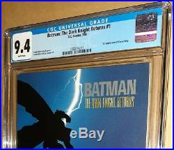 CGC 9.4 Batman The Dark Knight Returns #1 First 1st Print. 1st App Carrie Kelly