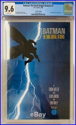 CGC 9.6 BATMANTHE DARK KNIGHT RETURNS #1-1st App Carrie Kelly Second Print 1986