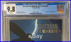 CGC 9.8 BATMAN THE DARK KNIGHT RETURNS #1-1st Print