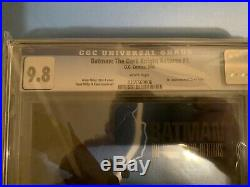 CGC 9.8 Batman The Dark Knight Returns 1-4 Set all with White Pages & 1st Print