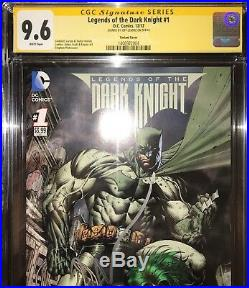 CGC SS 9.6 Legends of the Dark Knight #1 S Platt variant signed by Jeff Lemire