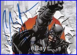 CGC SS BATMAN The Dark Knight # 0 signed by CHRISTIAN BALE! RARE Signature