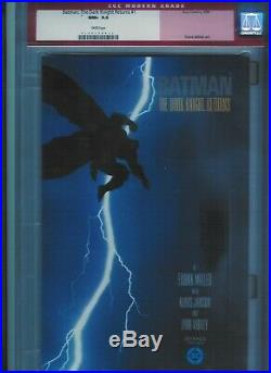 Cgc 9.6 Batman The Dark Knight Returns #1 White Pages 1st Print Frank Miller