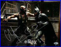 Christian Bale Tom Hardy Signed 11x14 Photo The Dark Knight Rises Beckett Coa A