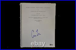 Christopher Nolan Signed The Dark Knight Rises Script Autograph Beckett Coa