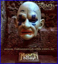 Chuckles Clown Latex Mask -the Dark Knight Movie Batman-bank Robber-joker