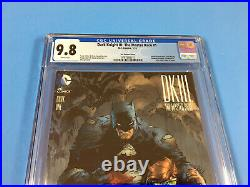DARK KNIGHT III THE MASTER RACE # 1 Jim Lee 1500 BATMAN VARIANT BEAUTY