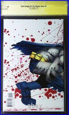 DARK KNIGHT III THE MASTER RACE (DK3) #1 CGC 9.8 SS (×4) FRANK MILLER Collection