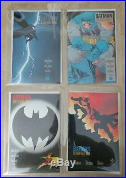 DC BATMAN THE DARK KNIGHT RETURNS #1 2 3 4 1st Prints MILLER VF/NM Iconic Set
