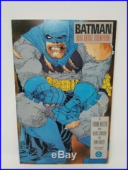 DC BATMAN THE DARK KNIGHT RETURNS BOOKS # 1-4 MILLER 1986 1st & 2nd PRINTS