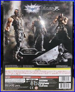 DC Batman Collectible The Dark Knight Trilogy Bane Play Arts Kai Action Figure