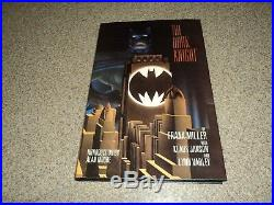 DC Batman The Dark Knight Returns Deluxe Hard Cover Signed By Frank Miller Limit