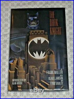 DC Batman The Dark Knight Returns Frank Miller Signed Autograph LOW Hardcover HC