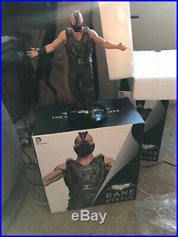 DC Collectibles Bane 16 Scale Icon Statue The Dark Knight Rises Dave Cortes