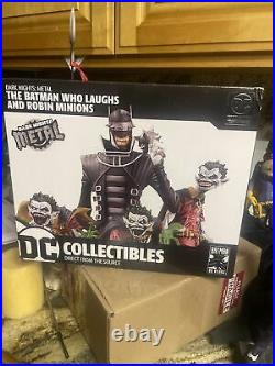 DC Collectibles Dark Knights Metal The Batman Who Laughs Statue Robin Minions