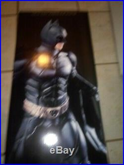 DC Collectibles The Dark Knight Rises Batman 16 Scale Icon Statue with box