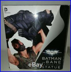 DC Collectibles The Dark Knight Rises Batman Vs Bane 16 Scale Icon Statue