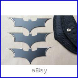 DC Comics Batman Arkham The Dark Knight Metal Batarang Action Figure Cosplay 3PC