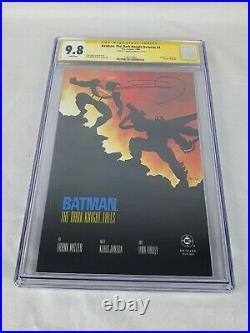 DC Comics Batman The Dark Knight Returns #4 CGC 9.8 Signed Frank Miller