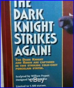 DC Comics Batman The Dark Knight Strikes Again Porcelain Statue'96 Miller