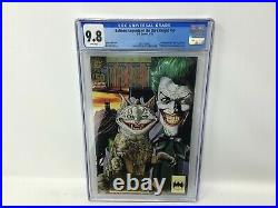 DC Comics Graded 1993 Batman Legends Of The Dark Knight 50 Cgc 9.8 White Pages