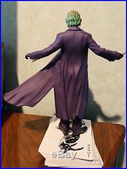 DC Comics The Dark Knight Joker Statue Limited 2338/6000 Heath Ledger