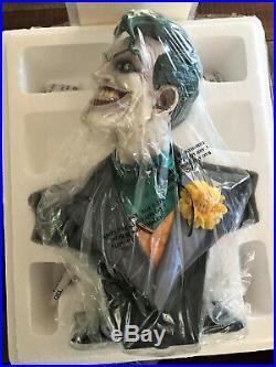 DC DIRECT JOKER 12 SCALE BUST BATMAN Animated Statue The DARK KNIGHT NIB