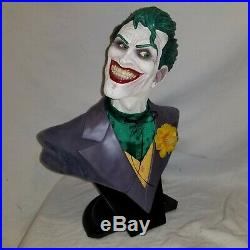 DC DIRECT JOKER 12 SCALE BUST WithBOX BATMAN Animated Statue The DARK KNIGHT
