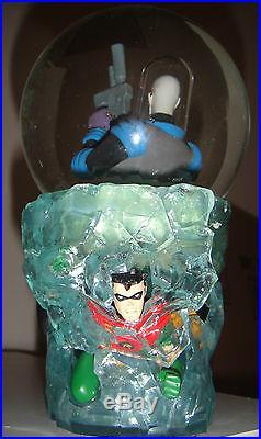 DC DIRECT MR. FREEZE SNOWGLOBE WithBOX BATMAN Statue The DARK KNIGHT Robin Bust