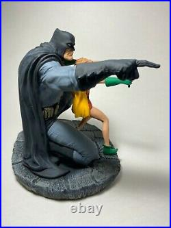 DC Direct Batman & Robinthe Dark Knight Strikes Again Statue #1988 Frank Miller