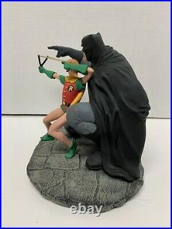 DC Direct Batman & Robinthe Dark Knight Strikes Again Statue #3453 Frank Miller