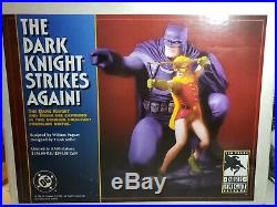 DC Direct Batman & Robinthe Dark Knight Strikes Again Statue #3462 Frank Miller