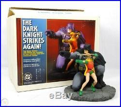 DC Direct Batman & Robinthe Dark Knight Strikes Again Statue #908 Frank Miller