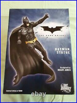 DC Direct The Dark Knight Batman Statue by Kolby Jukes