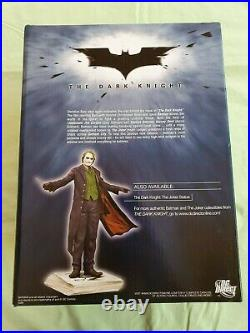 DC Direct The Dark Knight Batman Statue by Kolby Jukes