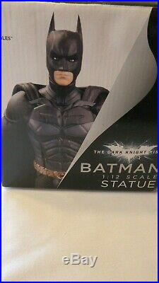DC Direct The Dark Knight Rises Barman 112 Scale Statue. DC Comics