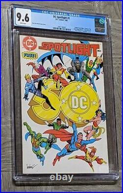 DC Spotlight #1 CGC 9.6 DC 1st App Batman The Dark Knight Returns & Watchmen