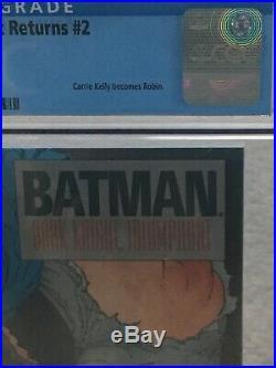 DC THE DARK KNIGHT RETURNS, KILLING JOKE 1st Prints CGC 9.8, 1,2,3,4 1986,1988