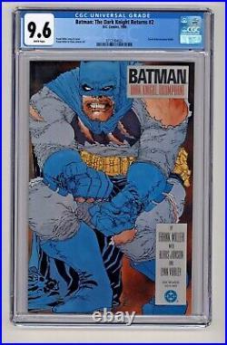 DC's Batman The Dark Knight Returns #2 Frank Miller CGC 9.6
