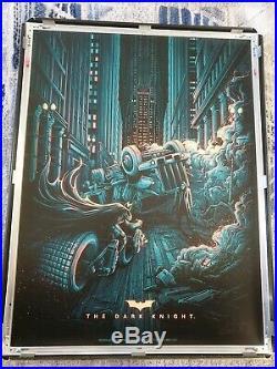 Dan Mumford The Dark Knight print. Signed and numbered 34/50